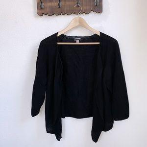 J.Jill | Linen Blend Open Knit Cardigan